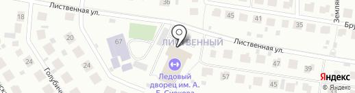 ВЕТГОСПИТАЛЬ на Широкой речке на карте Екатеринбурга