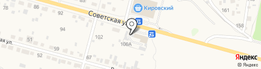 Вираж на карте Среднеуральска