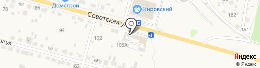 Элайза на карте Среднеуральска