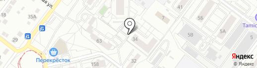 Цветное Настроение на карте Екатеринбурга