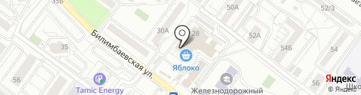 Ремонтная мастерская на карте Екатеринбурга