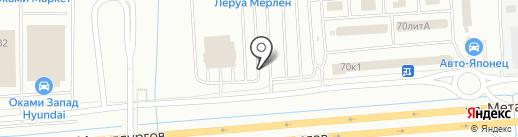 Stomoto на карте Екатеринбурга