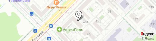 Карате Годзю-рю на карте Екатеринбурга