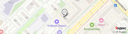 АкадемКартридж на карте Екатеринбурга