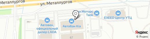 Эберспехер Климатические Системы РУС на карте Екатеринбурга