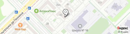 Добрый Хлеб на карте Екатеринбурга