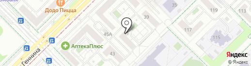 MYskin на карте Екатеринбурга