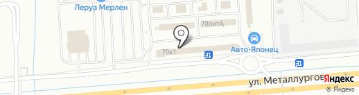 Урал-Мастер на карте Екатеринбурга