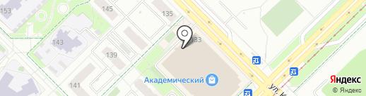 Брайт Фит на карте Екатеринбурга