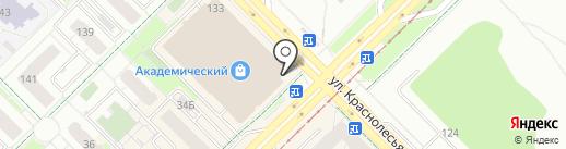 Dentelle на карте Екатеринбурга