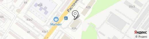 Перспектива-Авто на карте Екатеринбурга