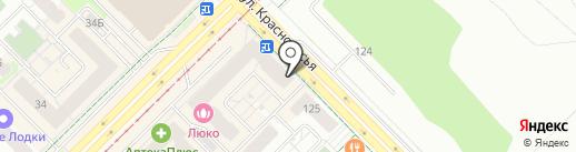 Таврия на карте Екатеринбурга