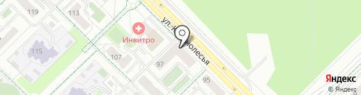 MG на карте Екатеринбурга