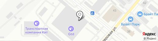 Бытмастер на карте Екатеринбурга