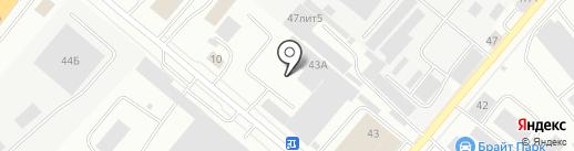 Стройметиз на карте Екатеринбурга