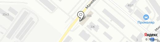 Трейд-Кейсинг на карте Екатеринбурга