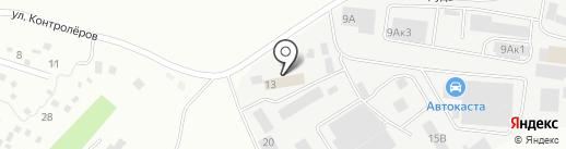 Авто-Контроль на карте Екатеринбурга