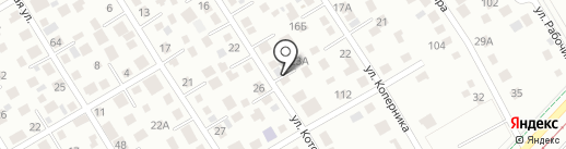 DH96 на карте Екатеринбурга