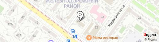 Мастер-Е на карте Екатеринбурга