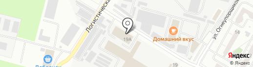 Гранд-Купе на карте Верхней Пышмы
