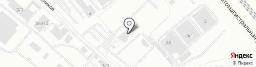 Вантаж на карте Екатеринбурга