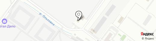Фолэнг на карте Екатеринбурга