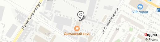 Бригада96 на карте Верхней Пышмы