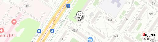 Живое Разливное на карте Екатеринбурга