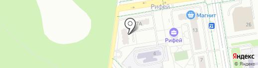 Третий кран на карте Верхней Пышмы