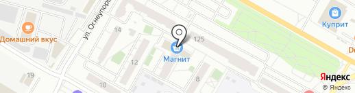 АВТОСПЕЦ на карте Верхней Пышмы