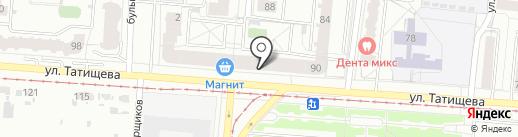 БиТ на карте Екатеринбурга