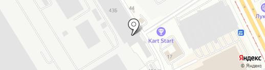 Смарт-Т на карте Екатеринбурга