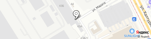 Студия-мастерская на карте Екатеринбурга