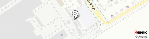 Строительная компания Путеец на карте Верхней Пышмы