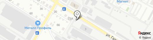 Опытный завод огнеупоров на карте Верхней Пышмы