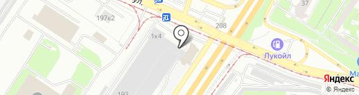 Люфтер на карте Екатеринбурга