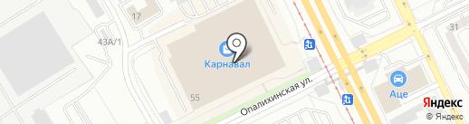 Настоящий шоколад на карте Екатеринбурга