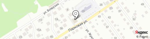 Магазин №22 на карте Верхней Пышмы