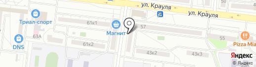 Профи-Ком на карте Екатеринбурга