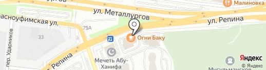 Екатеринбургская Коммуникационная Компания на карте Екатеринбурга
