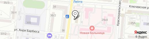 РемонтХаусЕкб на карте Екатеринбурга