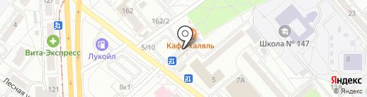 Курс Финанс на карте Екатеринбурга
