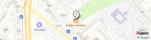 Кафе узбекской кухни на карте Екатеринбурга