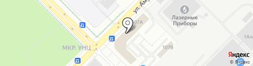 КБН на карте Екатеринбурга