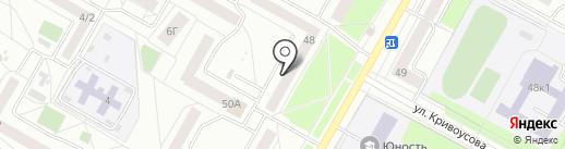 Магазин на карте Верхней Пышмы