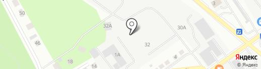 ЭМУ-4 на карте Верхней Пышмы