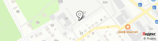 Техстройконтракт-Сервис на карте Верхней Пышмы