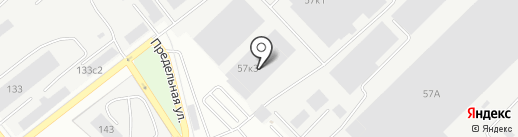 Техноторг на карте Екатеринбурга