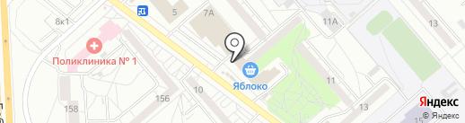 Суши-Маркет на карте Екатеринбурга