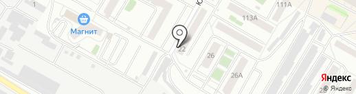Продуктовый магазин на карте Верхней Пышмы
